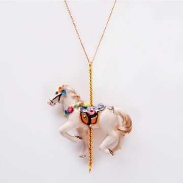 Horse Pendant L Gold, 80€, now featured on Fab.