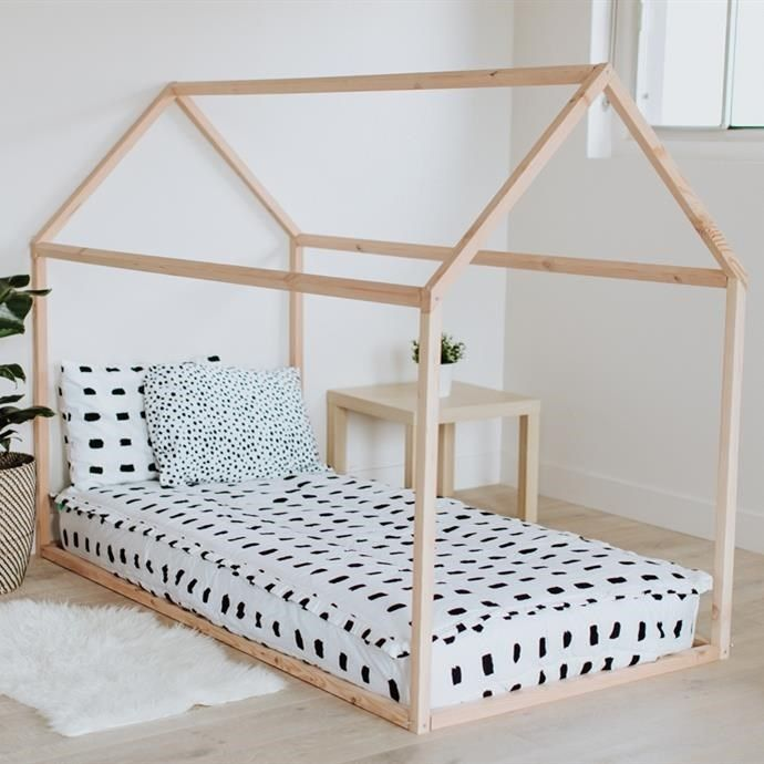 Twin Size House Bed Frame Free Shipping Cadre De Lit Lit