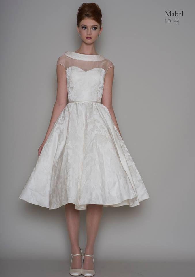 Loulou Bridal 2016 Mabel Tea Length Wedding Dress