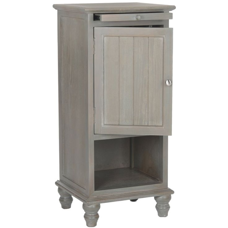 $186.61___ 16.1x14.2x36___ Safavieh American Home Collection Jezabel French Grey  End Table