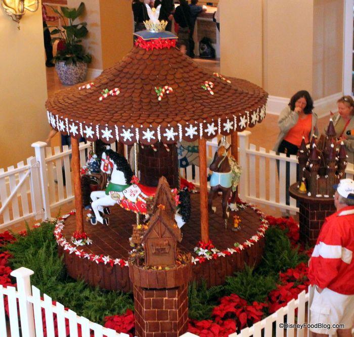 2012 Walt Disney World Gingerbread Holiday Displays | the disney food blog