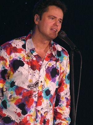 Donny Osmond Fan Website. Pinned for the shirt.