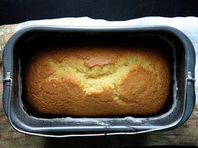 Bake&Taste: Ciasto cytrynowe (z maszyny)