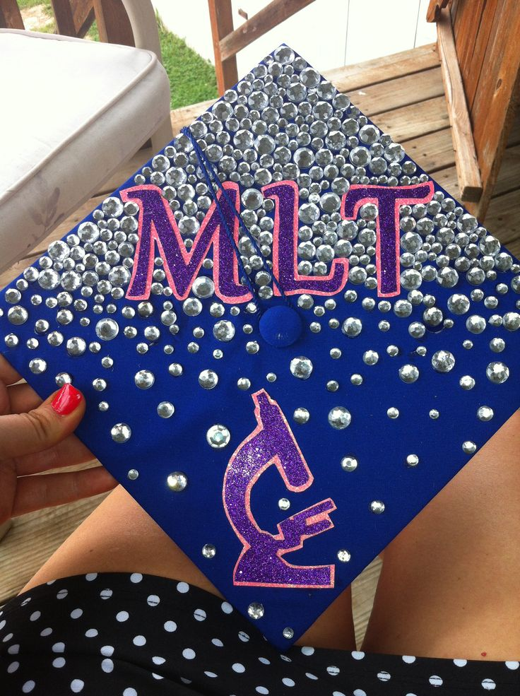 Medical Laboratory Tech Graduation Cap