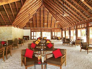 Meeru Island Resort & Spa (same as last pin). This is an all-inclusive bunch of packages - min 6 night stay and flight. Definitely looks cheaper than booking both seaparately.