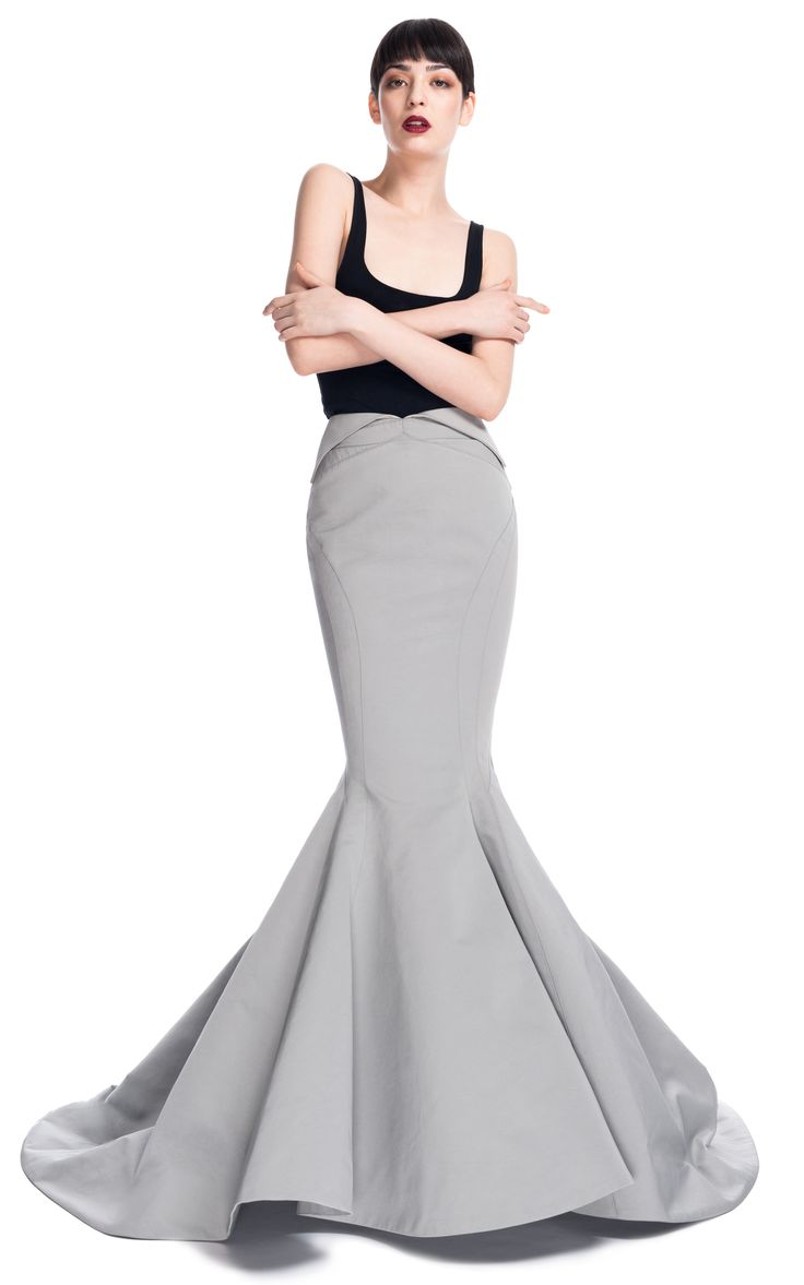 love how totally different and cool it is.. mermaid skirt - Google Search Zac Posen