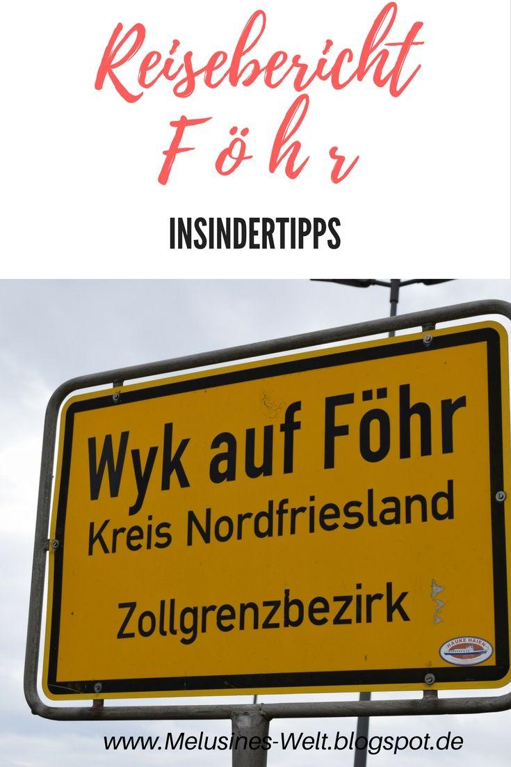 Klick auf das Bild um Insiderberichte und Tipps für den Urlaub auf Föhr. Biggi on tour! #Biggiontour #Föhr  http://melusineswelt.de/insel-foehr-insidertipps-reisebericht/