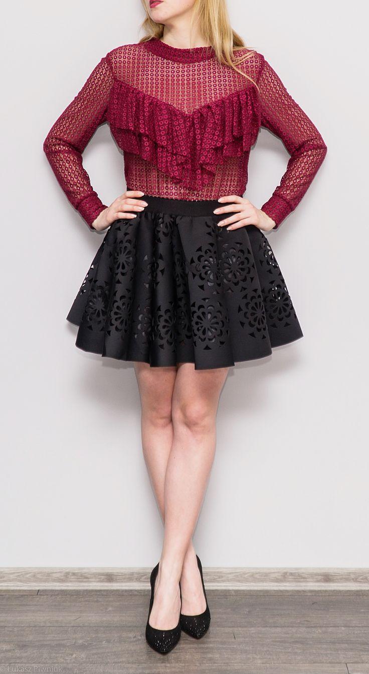 Bluzka Gianna i spódnica Black Flower <3 Beautiful