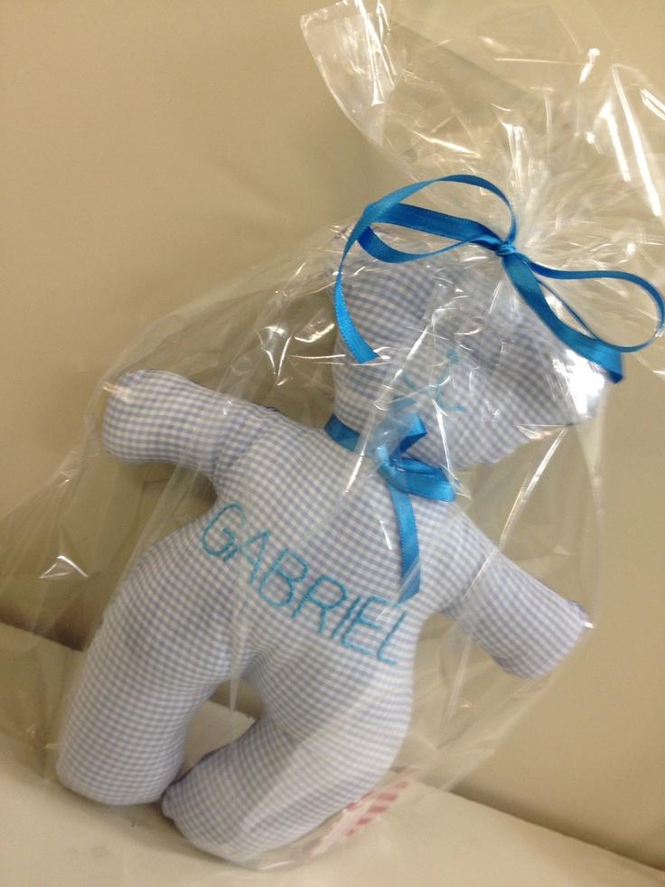 Ursinho Baby (nome da criança bordado)  Curta a nossa página no facebook: http://www.facebook.com/Marydja