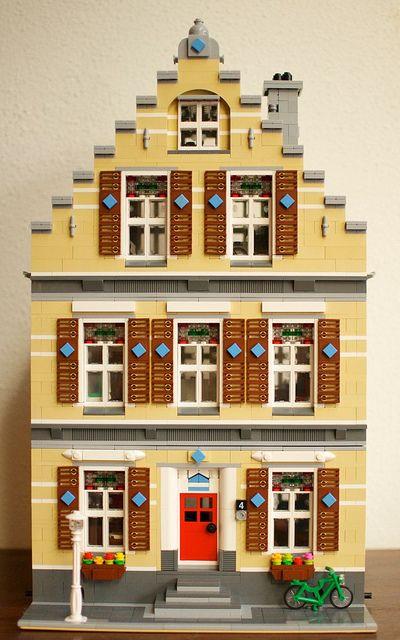 188 besten lego architecture unsorted bilder auf for Lego modernes haus
