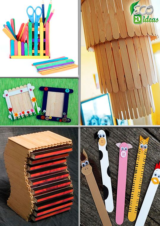 Originales y creativas ideas para hacer cosas divinas con - Cosas para hacer con palitos de helado ...