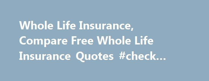 Life Insurance Policies Compare Life Insurance Policies Unique Life Insurance Comparison Quotes