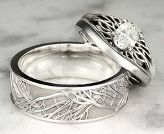 unusual-wedding-rings - Google Search