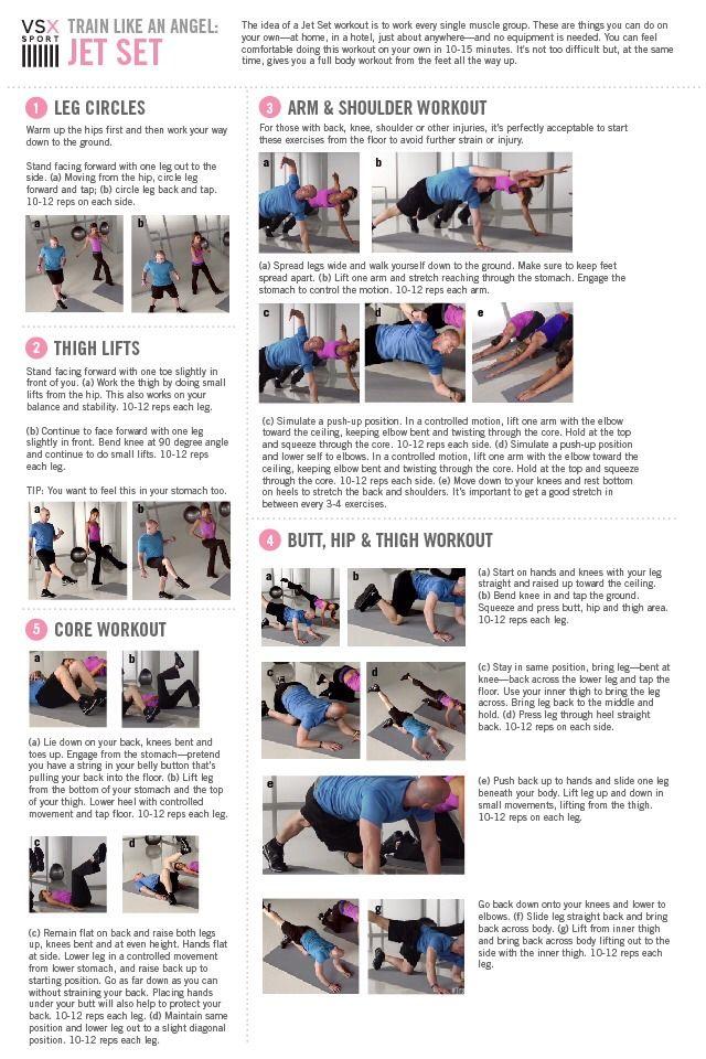Victoria Secret Workout: Jet Set