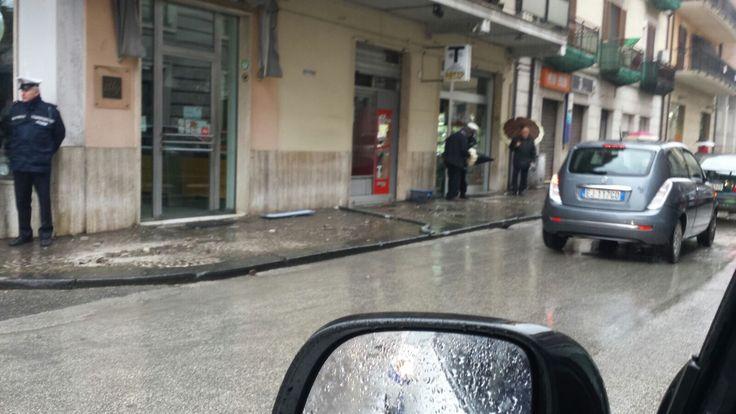 Paura in centro ad Avellino, pedone investito sul marciapiede