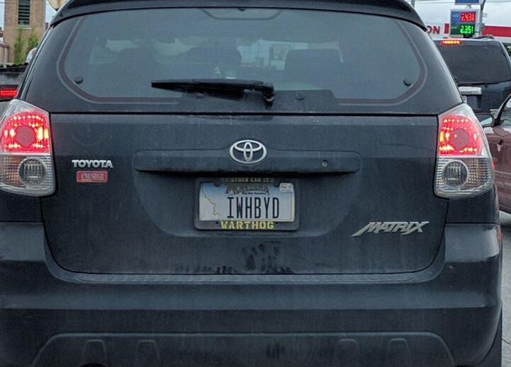 Funny License Plates Car Tags