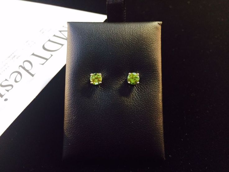 Welcoming August with a pair of Peridot stud earrings and wishing all the August babies a very happy birthday.