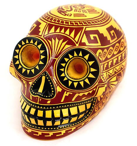 29 best images about i want your skull on pinterest for Oaxaca mexico arts and crafts