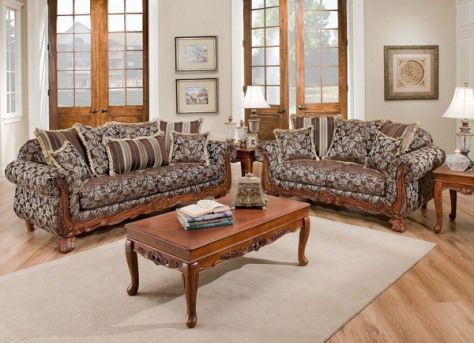 wooden living room furniture