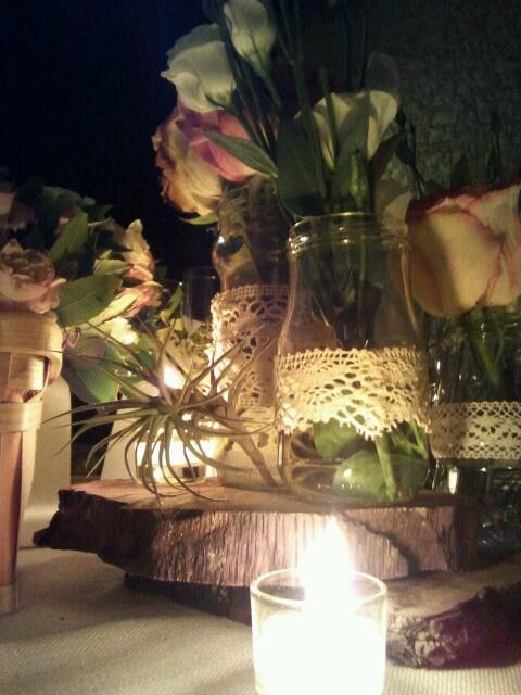 Bautismo Decoracion Vintage ~ Centro de mesa de boda vintage  Wedding Ideas All you need is LOVE