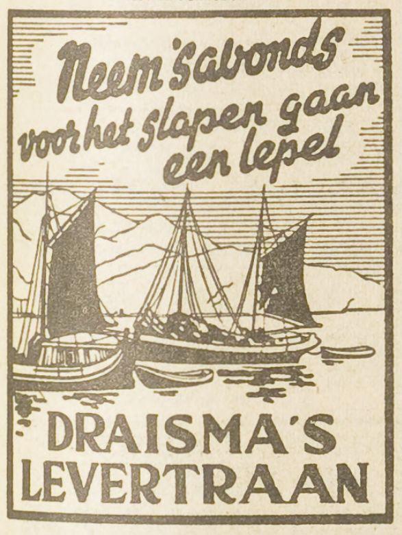 Draisma's Levertraan 1954