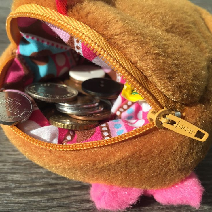 New Mrs. Little Bread Slice Coin purse!