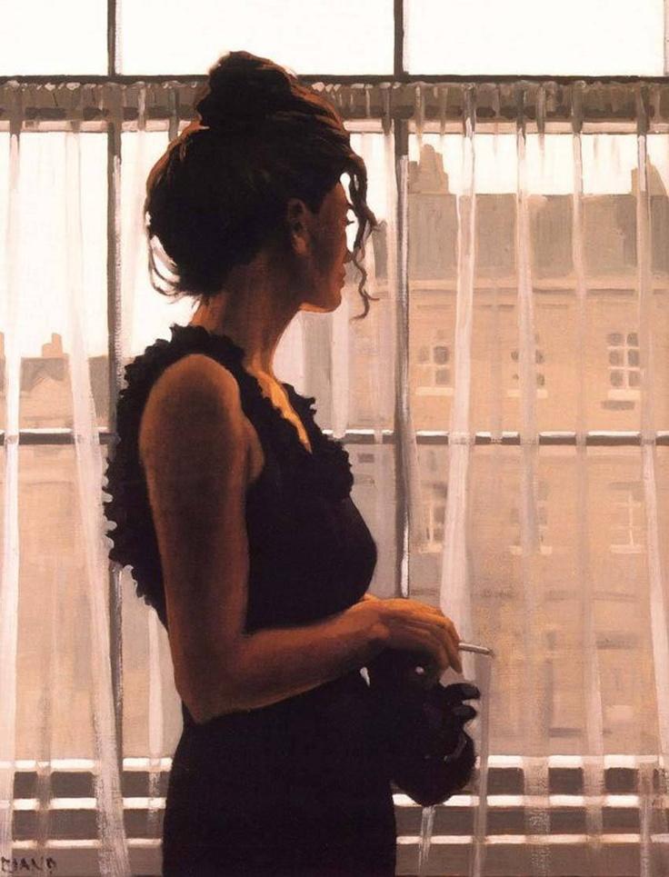 "Jack Vettriano_Night-Time , ""Yesterday's Dreams"""