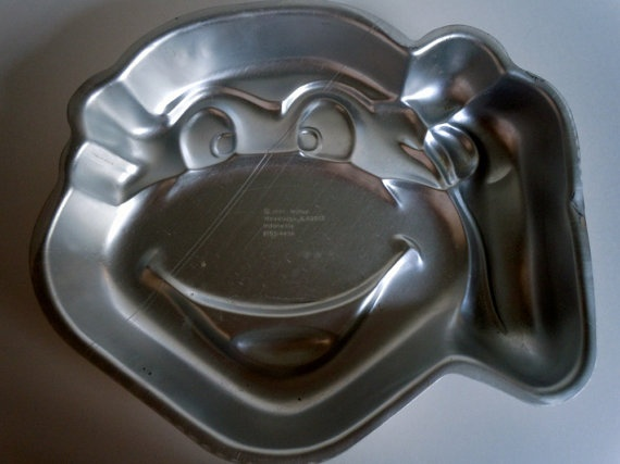 ninja turtle head cake pan