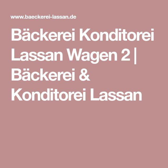 Bäckerei Konditorei Lassan Wagen 2 | Bäckerei & Konditorei Lassan