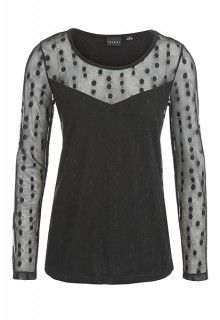 Crew Neck Layer Top (Black) #tribalsportswear #fall2014 #fallfashion #fallstyle