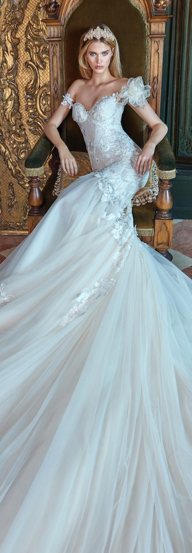 44 best Elegant Wedding Dresses images on Pinterest | Homecoming ...