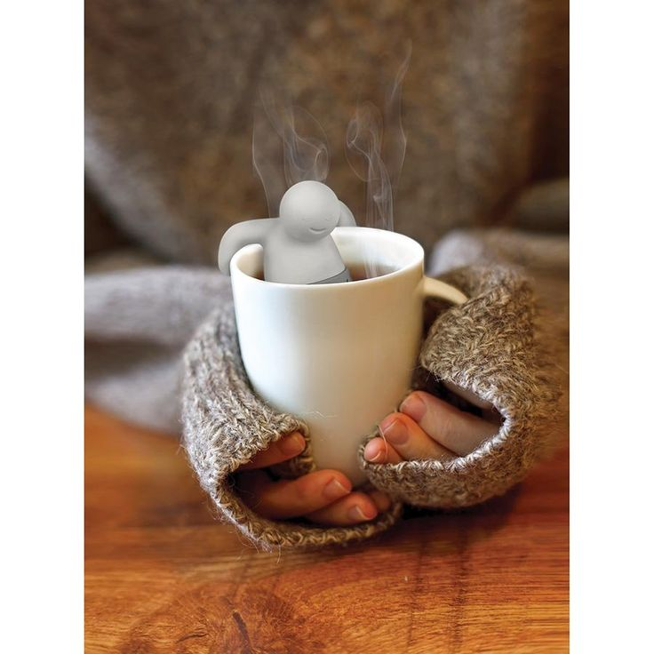 Throw some tea in your trousers! Mr Tea is the cutest tea infuser around!