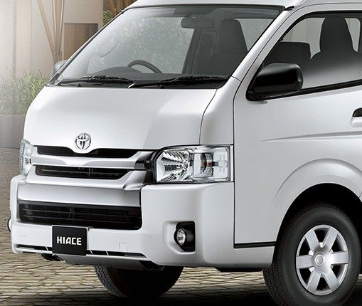 Toyota Auto2000 Hiace Front Exterior Type STD & Commuter