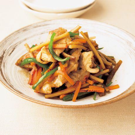 具だくさんきんぴら | 野崎洋光さんのきんぴらの料理レシピ | プロの簡単料理レシピはレタスクラブニュース