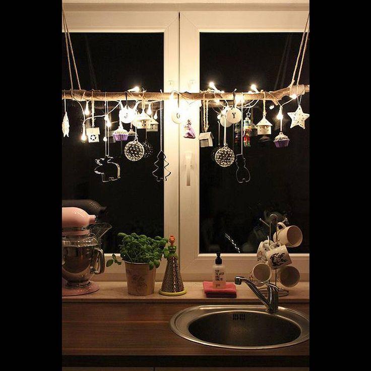 Guirlande Noël pour la fenêtre à fabriquer