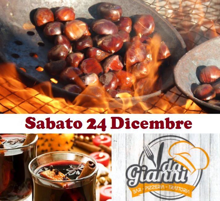 Serata Vin Brulè e Marroni con Musica – Vicenza – Castelgomberto – Ristorante pizzeria da Gianni