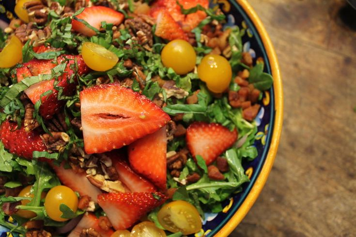 strawberry salads lemon vinaigrette vinaigrette recipe arugula salad ...