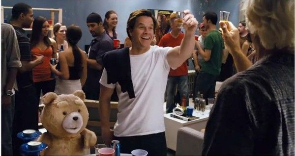 Ted DONQ RUM #MarkWahlberg #JohnBennett #Drink #ProductPlacement