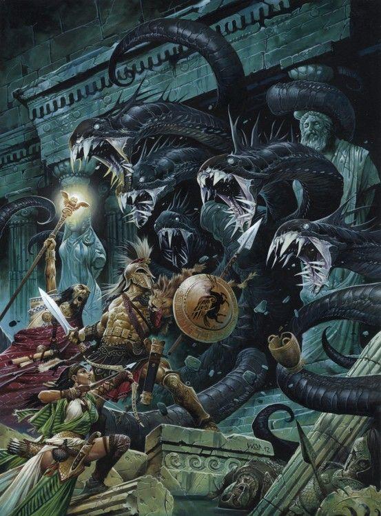 33 best Hydra idea pics images on Pinterest   Fantasy ...