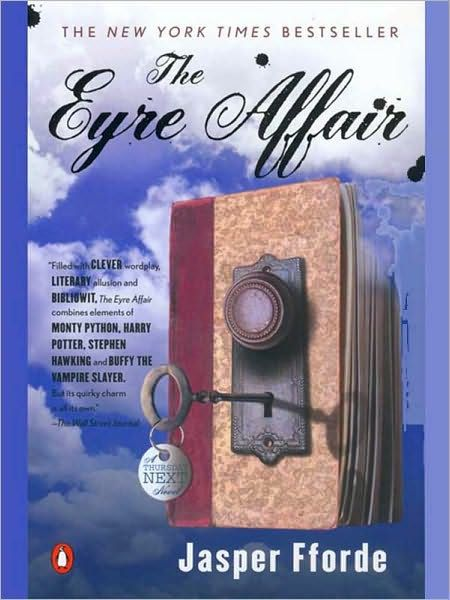 The Eyre Affair - Alternate world Great Britain where life evolves around books and someone has invented a machine that takes you into books! Young adults and adults will enjoy it.