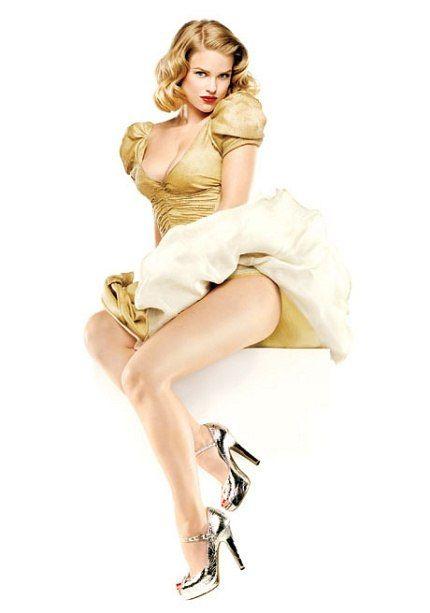 The Vanities Girls | Vanity Fair    Alice Eve, pin up style!