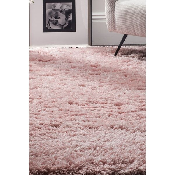 Safavieh Polar Light Pink Shag Rug (8' x 10')