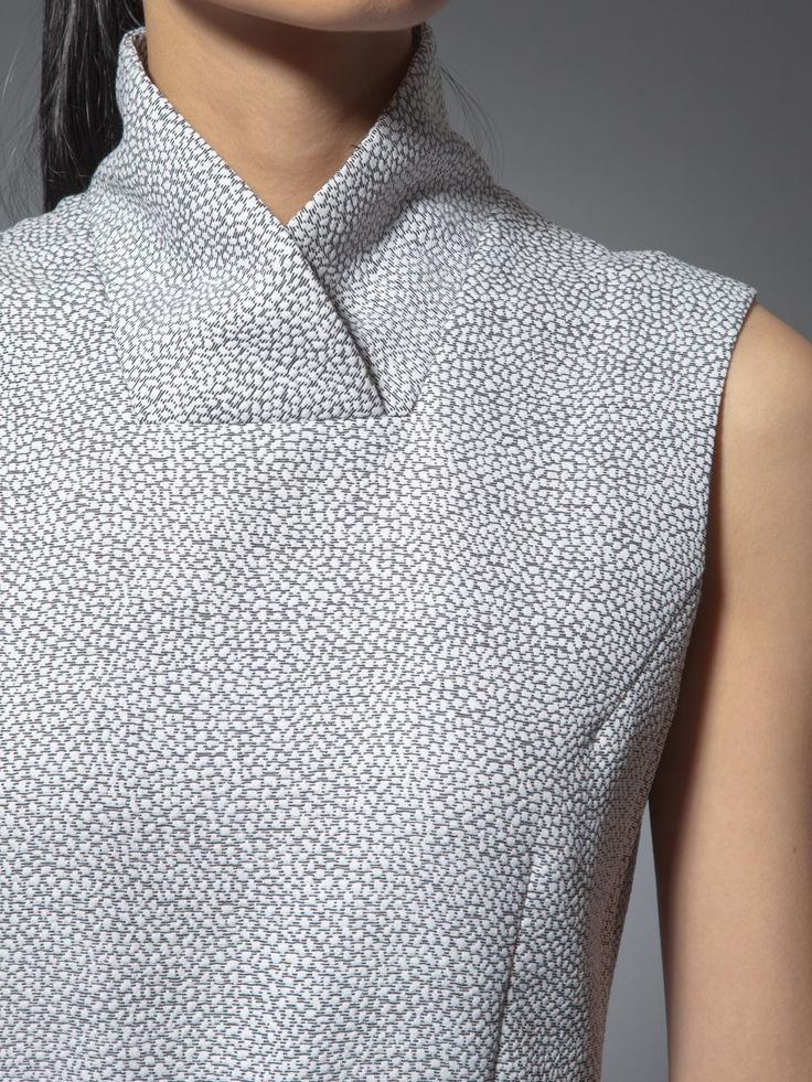 Cotton nylon dress    Shanghai Tang  Spring/Summer 2014