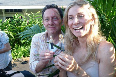 Michael Emerson and Elizabeth Mitchell