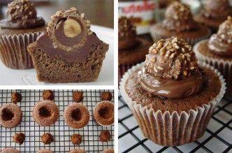 Ferrero Rocher Cupcake Recipe- wonderful DIY
