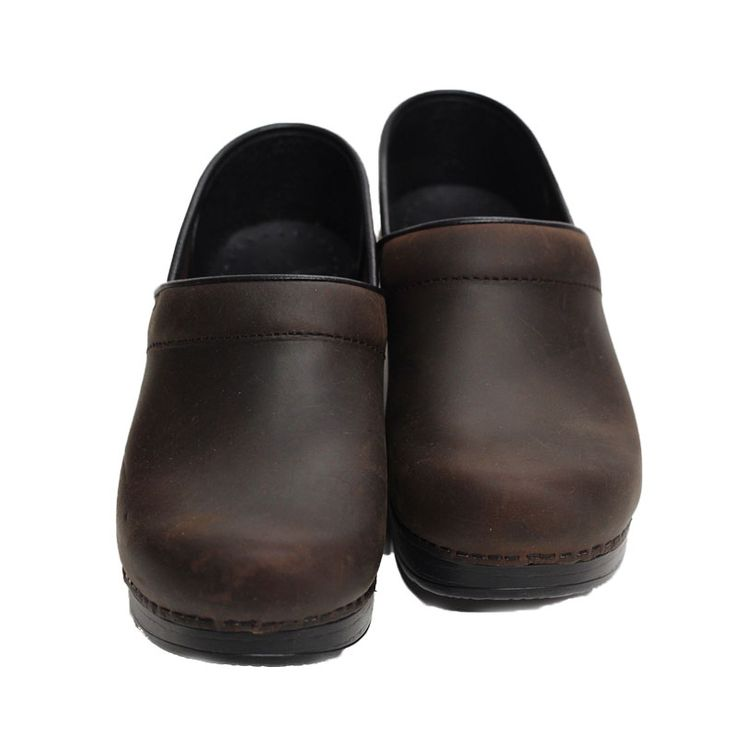 dansko zoccoli antic brown