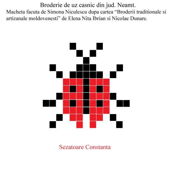 Spor la cusut! Macheta facuta de Simona Niculescu pentru Sezatoare Constanta.