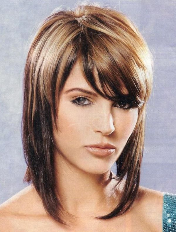 Classy Two Tone Medium Length Hairstyles To Latest