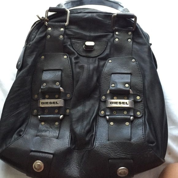 Diesel purse 100% leather diesel bag . Great condition Diesel Bags