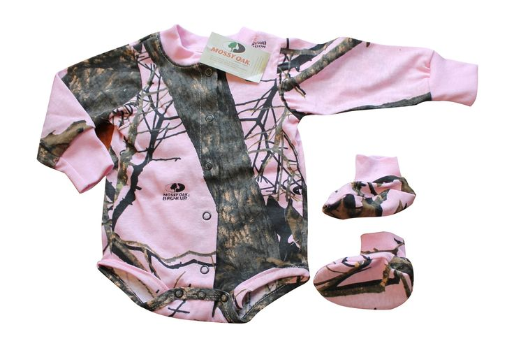 Mossy Oak Pink Baby Outfit $11.99+Free Shipping! Closeout Blow Out Sal – Camo Chique